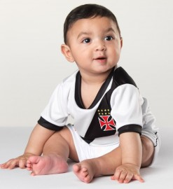 Kit Camiseta e Shorts Bebê/Infantil VASCO